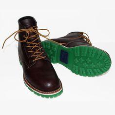 Greenwich Village colored soles.