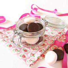 Indulgent and decadent these delicately flavoured rose water chocolate creams are delicious and a perfect gift for family and friends.