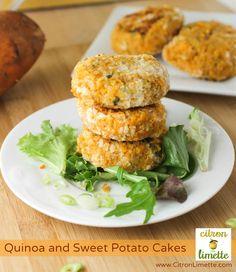 Heavenly Quinoa and Sweet Potato Cakes