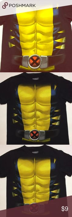 Marvel Comics Boys Wolverine Boys Size Small Boy Size Small Cool Shirt. Perfect for halloween or just for fun Marvel Shirts & Tops Tees - Short Sleeve