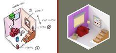 Game design and concepts with Sketchbook & Blender