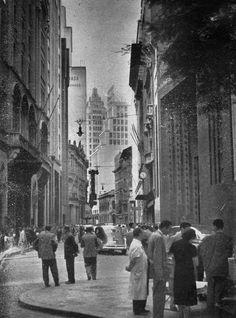 Rua 15 de Novembro em 1953