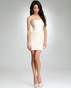 cheap bebe dresses. | ... Discount for bebe Strapless Banded Dress with Fast & Super Saver