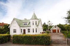 Focks väg, Önnestad, Sweden. Anno 1907.