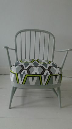 Ercol Retro Chair Mid Century refurbished Vintage Designers Guild