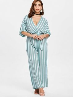 affa5cd4982 Plus Size Striped Jumpsuit - MULTI 4X Striped Jumpsuit