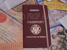 Indiana Jones and the Last Crusade Henry Jones Sr US Passport Replica Prop