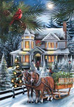 Vintage Christmas   ☃️