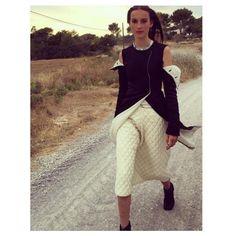 Julia Bergshoeff à Ibiza Vogue Paris http://www.vogue.fr/mode/mannequins/diaporama/la-semaine-des-tops-sur-instagram-juillet-2015/21751/carrousel#julia-bergshoeff-ibiza