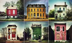 Stunning photographs transform bleak St.Louis' landscape of crumbling buildings and abandoned homes into 'slum beautiful' art #DailyMail