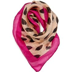 Touch - Silk Scarf ($15) ❤ liked on Polyvore