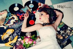 Punk Bride married to music