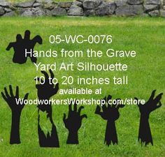05-WC-0076 - Pile of Tombstone Yard Art Woodworking Pattern #diy #woodcraftpatterns