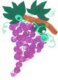 Játékos tanulás és kreativitás: Szőlő ötletek Kids Rugs, Crafts, Decor, Montessori, Hair, Corks, Seasons, Event Posters, Red