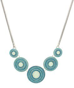 Look at this #zulilyfind! Pacific & Gold Bull's Eye Beauty Necklace #zulilyfinds