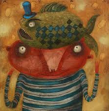Výsledok vyhľadávania obrázkov pre dopyt Fero Lipták - tvorba Fish, Pets, Painting, Animals, Animales, Animaux, Pisces, Painting Art, Paintings