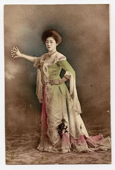 Vonette - illusionist who worked the hippodrome.