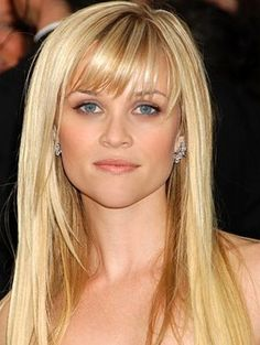 reese witherspoon with long hair | Reese Witherspoon Long Hairstyle Remy Human Hair Custom [FS0761]