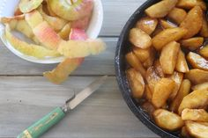 Fried Apples  if y'all aren't from the south, then try sauteed apples ;)