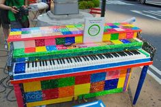 Colorful piano!