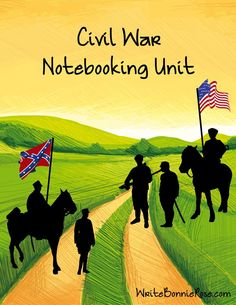 FREE Civil War Notebooking Unit - Visit to grab an amazing super hero shirt now on sale! Civil War Activities, History Activities, Teaching History, 7th Grade Social Studies, Teaching Social Studies, Middle School History, Study History, Women's History, Ancient History