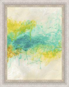 Trends Aurora Lights I Framed Painting Print