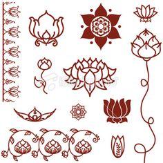tatouage lotus - Recherche Google