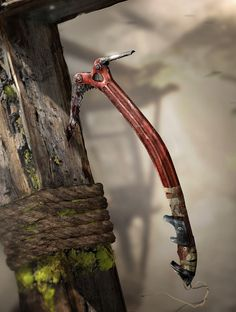 Ice Axe - Pictures & Characters Art - Tomb Raider