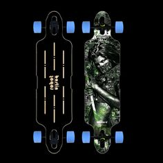 Bustin Limited Edition 36″ Robot V2 Complete Longboard Skateboard $193.95 at Action Board Sports