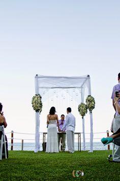 Ceremonia Civil frente al mar, tu boda en playa es la mejor opción. Bodas Huatulco te asesora.
