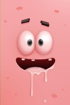 Patrick SpongeBob ★ Find more funny #iPhone + #Android #Wallpapers and #Backgrounds at @prettywallpaper