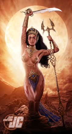 Dejah Thoris: Princess of Mars by Jeffach.deviantart.com on @DeviantArt