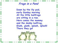 "Song, ""Frogs in a Pond"""