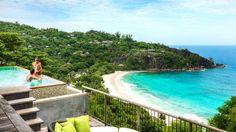Serenity Villa view at Four Seasons Resort Seychelles