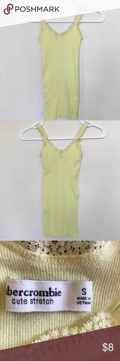 Abercrombie Kids tank top. Girl's size (S). Abercrombie Kids tank top. Girl's size (S). Lace around borders. Great condition. abercrombie kids Shirts & Tops Tank Tops