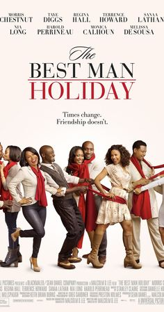 The Best Man Holiday With Monica Calhoun, Morris Chestnut, Melissa De Sousa, Taye Diggs. When college friends reunite after 15 years over the Christmas holidays, they discover just how easy it is for long-forgotten rivalries and romances to be reignited. Best Man Movie, Love Movie, Movie Tv, Movie Scene, Movie Sequels, Comedy Movies, Movie Theater, Theatre, Dirty Dancing