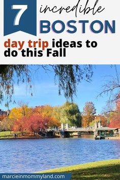 Looking for Boston travel tips? A local Boston expert suggests getting out of the city and checking things off your Boston bucket list! Whether you are looking to do a weekend getaway from Boston or just an awesome Boston day trip, you'll get some amazing Massachusetts travel ideas. These are perfect things to add to your Boston itinerary if you are visiting Boston Massachussetts in Fall. These also make great stops on a New England road trip. www.marcieinmommyland.com