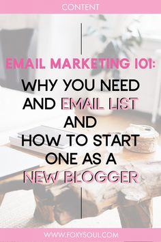 Email Marketing is one of the most important things for growth and success of your online business. So, whether you're a newbie blogger or a seasoned one, today I'm bringing you the ultimate guide on how to start and email list, what you'll need and how to execute it. Email Marketing Tools, Seo Marketing, Content Marketing, Affiliate Marketing, Online Marketing, What Is A Blog, Marketing Channel, Social Media Engagement, Online Blog