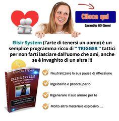 Scopri come legare un uomo in amore: nuova tecnica psico relazionale per salvare il tuo rapporto d'amore. http://elisirsystem.it