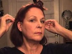 I'm only half serious - hmmm.  Non surgical face lift- face lift without surgery using the instant face lift tape - YouTube