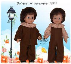 ATELIER ARIANNE Vêtement pour poupée Modes et Travaux Jean-Michel Octobre Novembre 1974