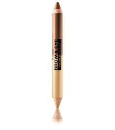 A versatile two-in-one, this double-ended pencil performs an almost endless array of tasks. Depending on which of our three shade duos you pick, the matte side can be used as an eye shadow base (or shadow itself) and brow highlighter, while the pearl side can brighten up the inner corners of the eyes, and lift and define the brows. Vanilla/Natural Taupe brigh...