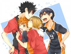 tobio is jealouss
