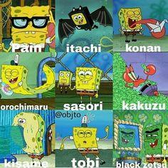 Naruto & Bob Esponja