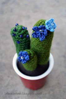 Airali handmade. Where is the Wonderland? Crochet, knit and amigurumi.: Amigurumi cactus #6