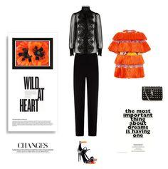 """Wild At Heart"" by maitepascual ❤ liked on Polyvore featuring Stella Jean, Balenciaga, Dolce&Gabbana, Tamara Mellon, Yves Saint Laurent and Kershaw"