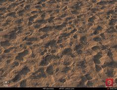 ArtStation - PBR Procedural Sand Material Study 01, Joshua Lynch