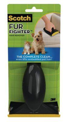 Scotch-Brite FurFighter Hair Remover Kit 849SK-5, 1 Handle with 5 Refill Sheets:Amazon:Pet Supplies