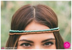 Product Description A row of blue turquoise seeds beads is paired with a row of dainty wooden beads. The cool blue and warm brown color combination evokes a refreshing earthy vibe. Sold as one individual hippie headband. Paparazzi Accessories, Hair Accessories, Hippie Headbands, Wooden Beads, Latest Fashion Trends, Color Combinations, Cool Style, Fashion Jewelry, Turquoise