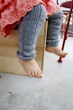 Ravelry: Cross Stitch Baby Legwarmers pattern by Théa Rosenburg in Crystal Palace Yarns Merino 5